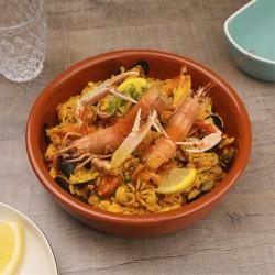 Paella aux fruits de mer -...