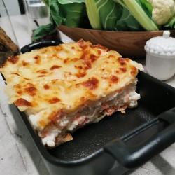 Lasagne de saumon et chou...