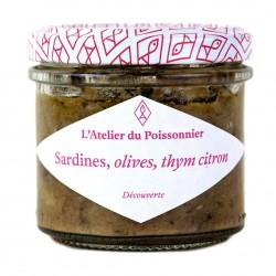 Rillettes sardines, olives,...