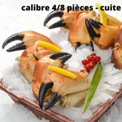 Pinces de Crabe cuites...