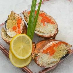 Demi Crabe cuit - lot de 1kg