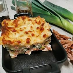 Lasagne de saumon aux...